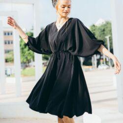 שמלת אמיליה שחור