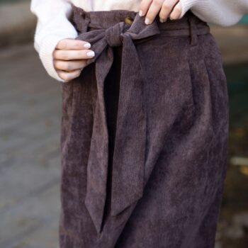 חצאית גאיה חום