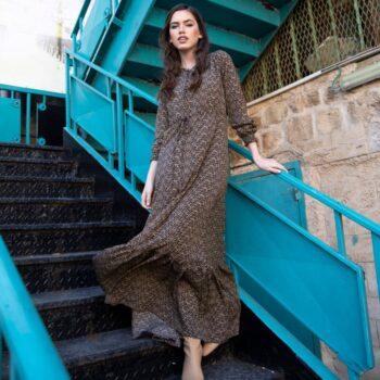 שמלת ענבל מקסי
