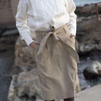חצאית גאיה בז'