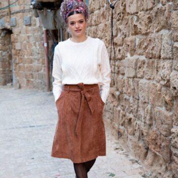 חצאית גאיה חמרה